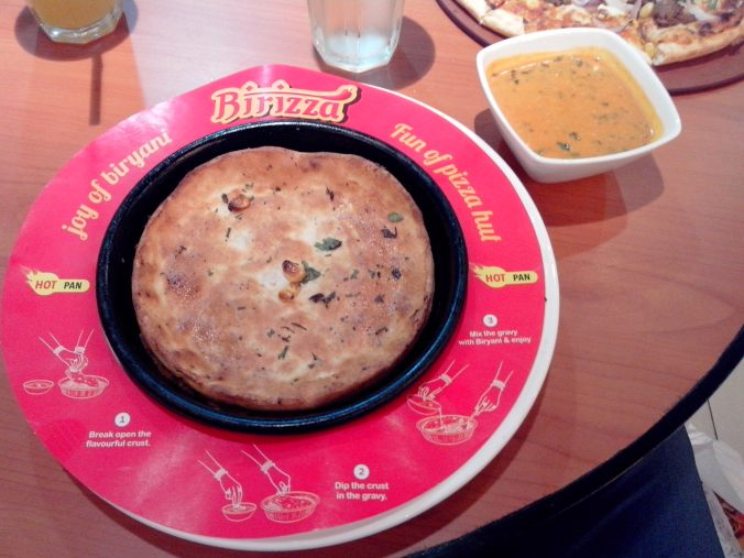 Pizza Hut's Birizza